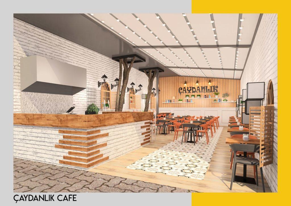 cafe dekorasyon ve tasarımı