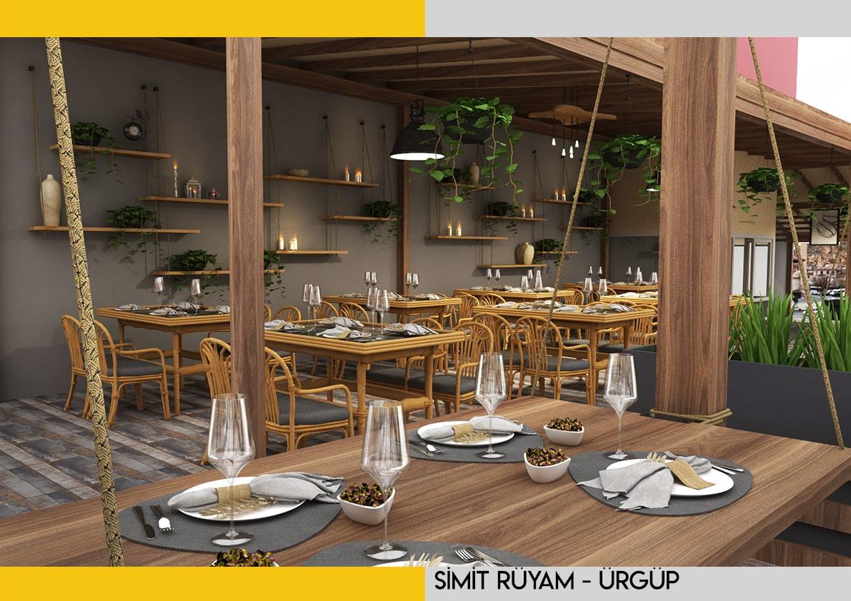 kayseri cafe iç mimari tasarım