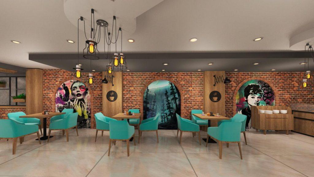 Kayseri cafe dekorasyonu